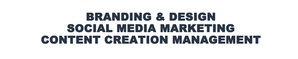 Branding Design Social Media Marketing Content Creation Management